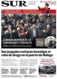 Portada de SUR | Diciembre de 2011