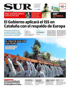 Portada de SUR (Edic. Marbella) | 20 de octubre