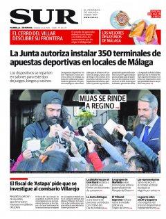 Portada de SUR (Edic. Marbella) | 24 de febrero