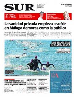 Portada de SUR (Edic. Marbella) | 04 de junio