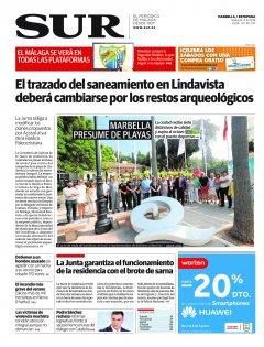Portada de SUR (Edic. Marbella)   04 de agosto
