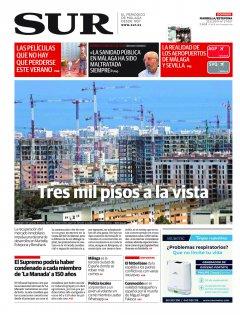 Portada de SUR (Edic. Marbella) | 23 de junio