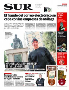 Portada de SUR (Edic. Marbella) | 19 de enero